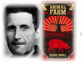 the portrayal of the utopian society in george orwells animal farm In animal farm orwell describes the transition from a society organized on the capitalistic basis to a communist dictatorship where the abolition of the social classes has taken place and the equality of all men in front of the law and the state is established.